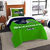 OSD Seattle Seahawks Draft Twin Comforter & Set OFFICIAL NFL