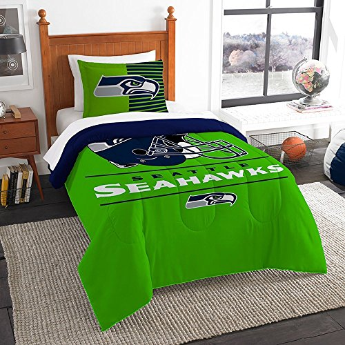 OSD Seattle Seahawks Draft Twin Comforter & Set OFFICIAL NFL by OSD