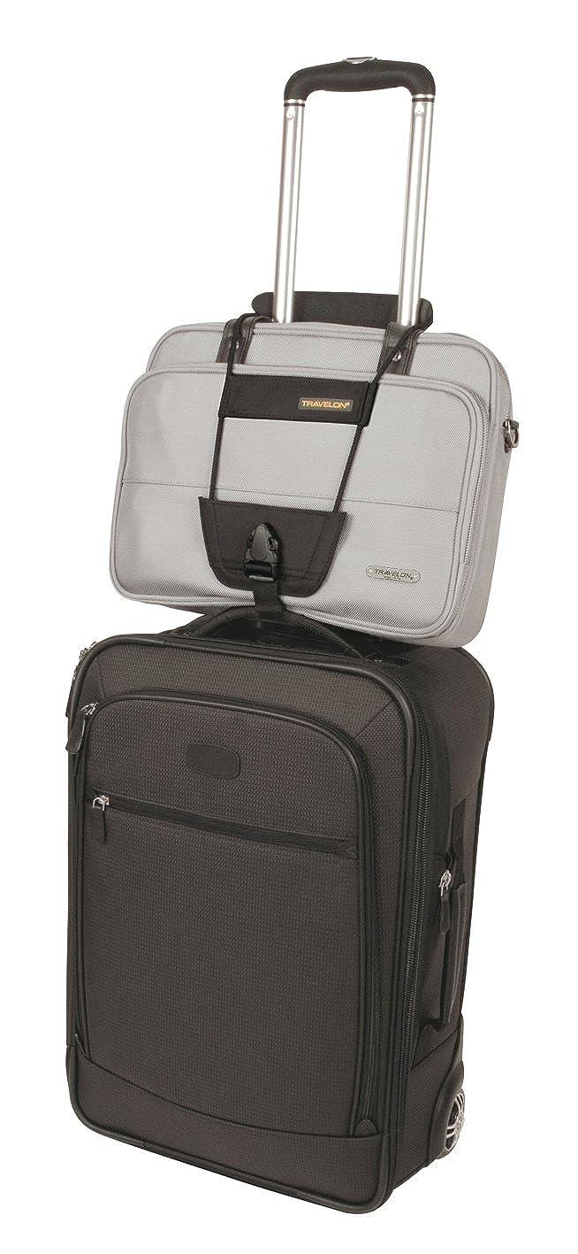 Amazon.com | Travelon Bag Bungee, Black, One Size | Luggage Straps