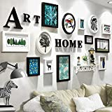 ZGP Home@Wall photo frame Photo Wall Wedding Gifts Bedroom Living Room Wall (Color : B, Size : 202102cm)