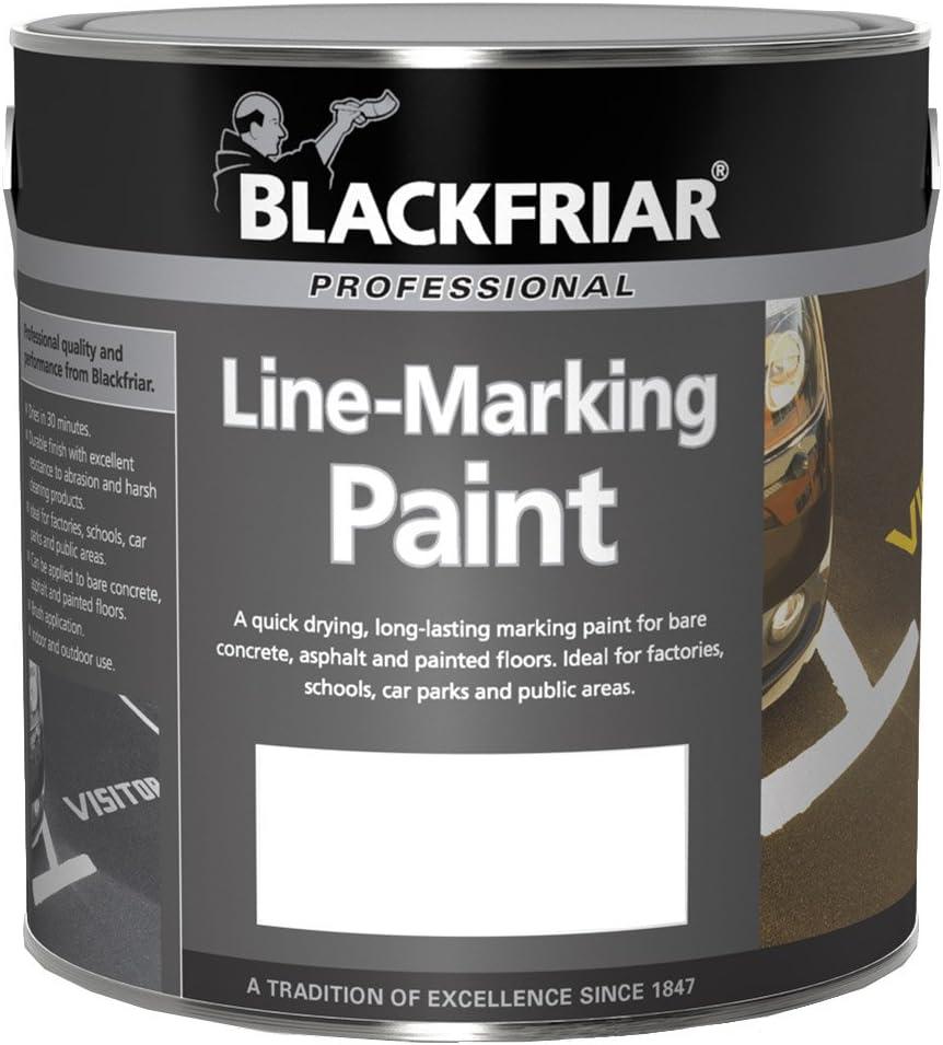 Blackfriar Peinture de marquage routier Blanc 2,5 l