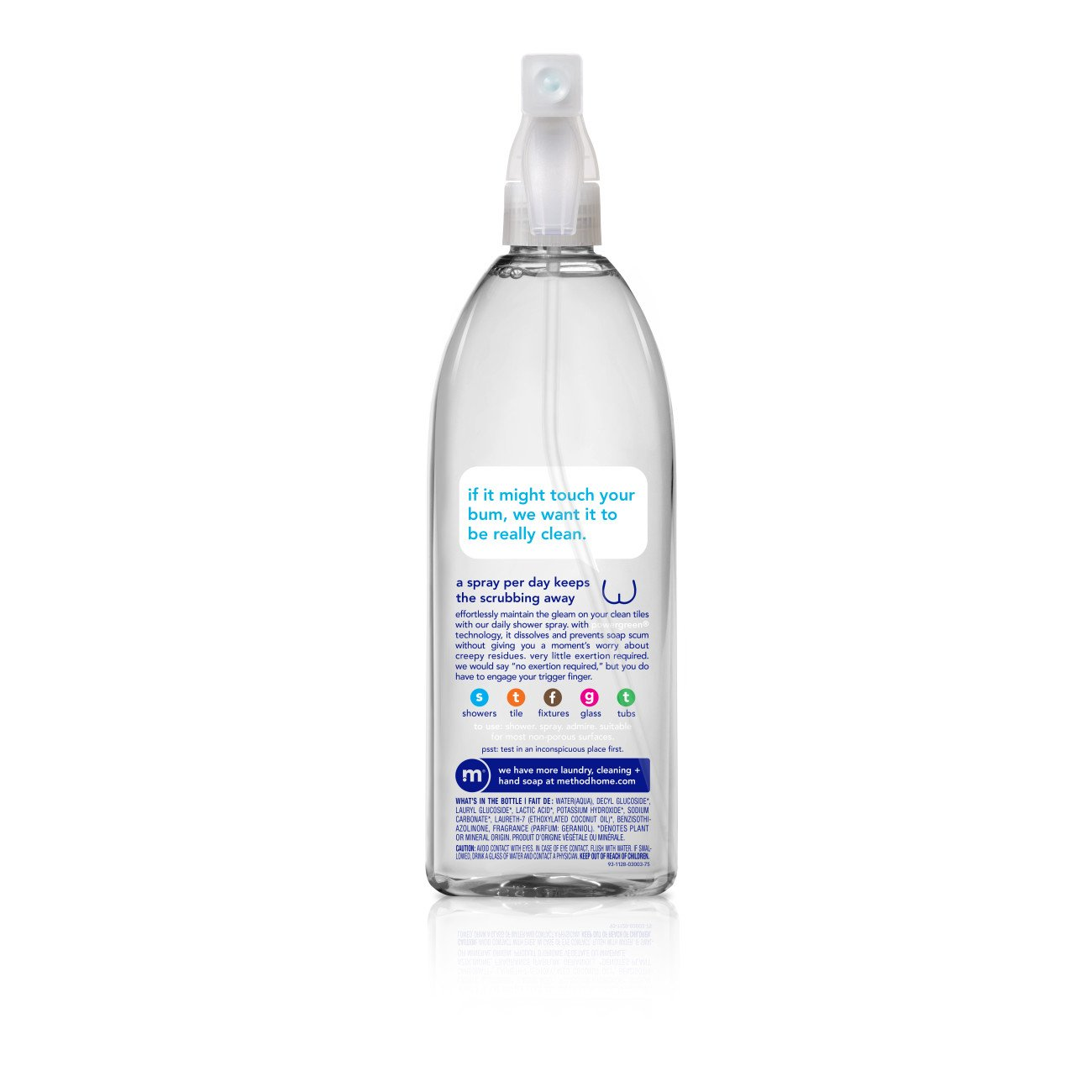 Method Daily Shower Spray Cleaner, Ylang Ylang, 28 Ounce (Pack 8) by Method (Image #3)