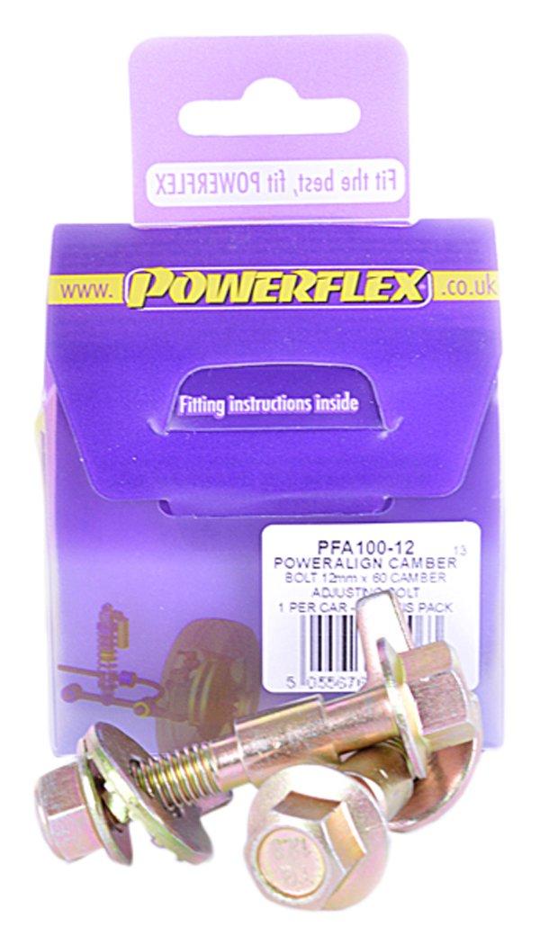 Powerflex PFA100-12 Kit Bulloni Eccentrici M12, Kit da 2 pezzi EPTG LTD.