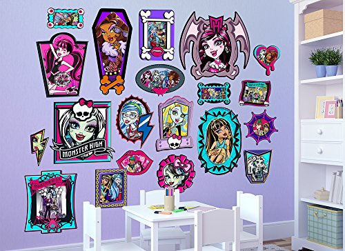 Monster High Family Frames Wall Decal (Frankie Monster High Pictures)
