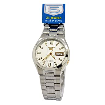 Seiko Men JAPAN 5 Automatic 7S26 SNKG33 SNKG33J1