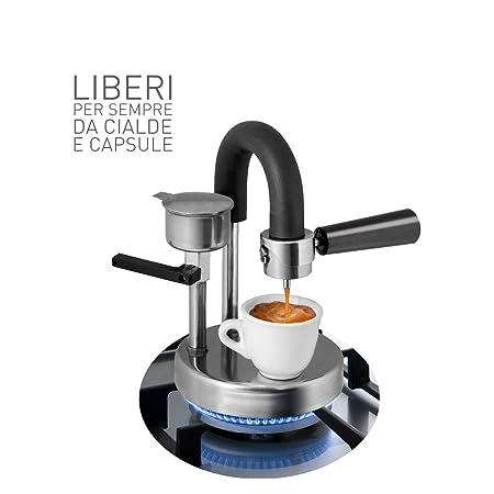 Kamira versión de colores rojo, el espresso cremoso italiano en el hornillo de tu casa sin cápsulas ni saquitos de café!: Amazon.es: Hogar