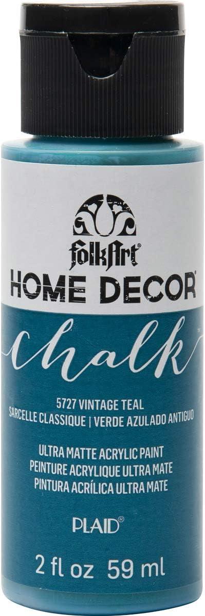 FolkArt Vintage Teal Home Decor Chalk Furniture & Craft Paint