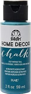 product image for FolkArt Vintage Teal Home Decor Chalk Furniture & Craft Paint