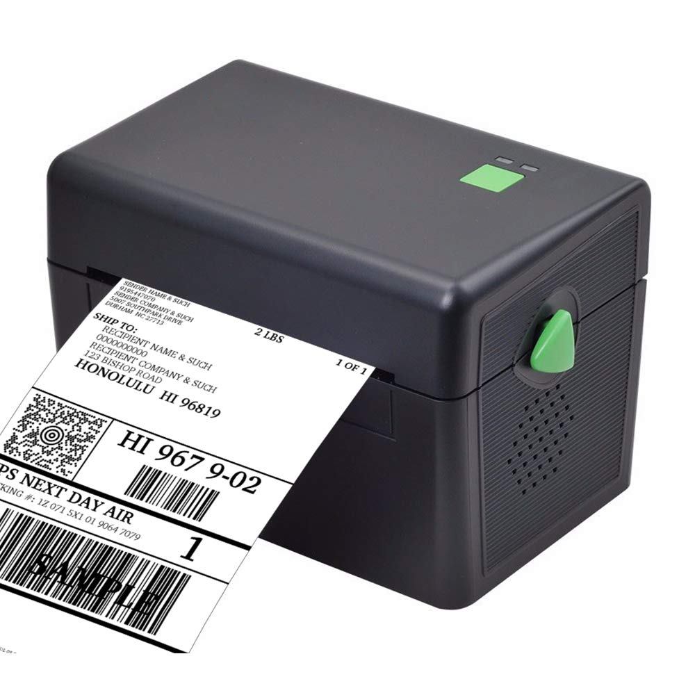 Mini Label Printer, 4x6 Thermal Printer, Commercial Direct Thermal High Speed USB Port Label Maker Machine, Etsy, Ebay, Amazon Barcode Express Label Printing by Meihengtong (Image #1)