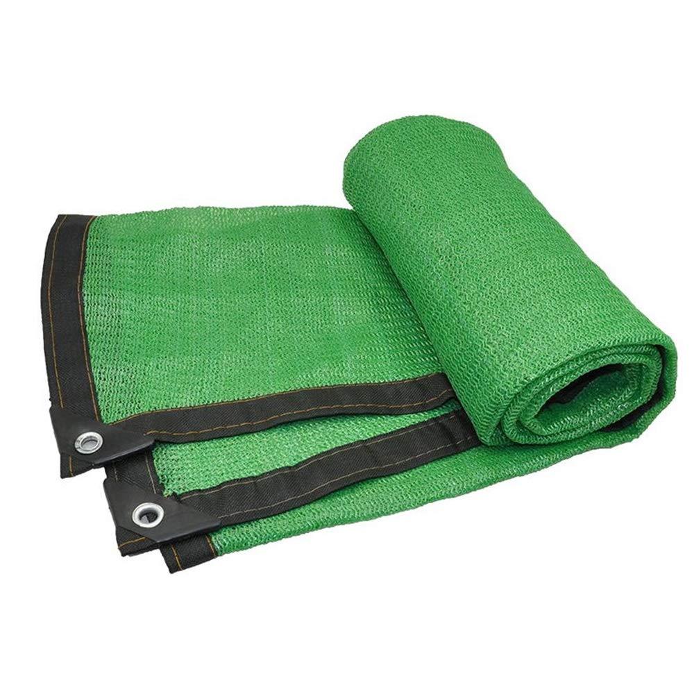 Feifei 85% Ombra di Stoffa Ombreggiata a Rete Nastratura a Nido d'Ape Paralume in Maglia per pergola (colore   verde, Dimensioni   4×6m)