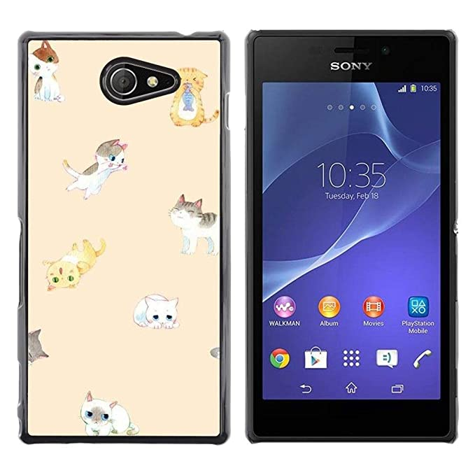 Funda para Smartphone carcasa rígida Carcasa para Sony Xperia M2 ...
