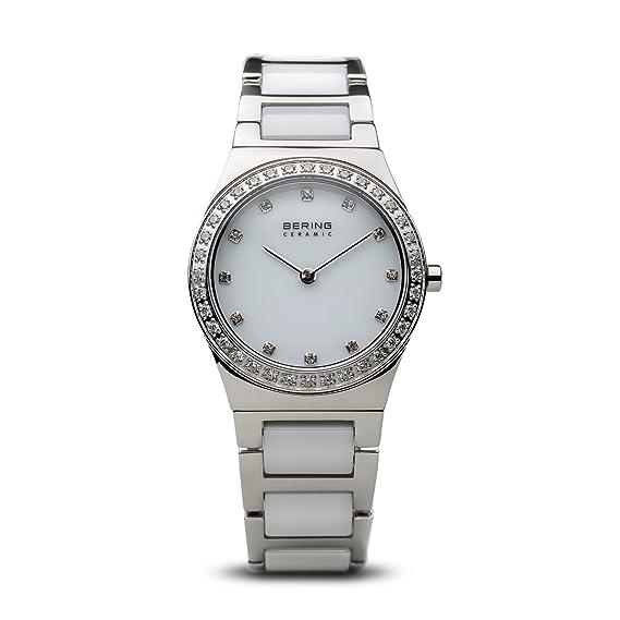 BERING Reloj Analógico para Mujer de Cuarzo con Correa en Acero Inoxidable 32430-754: Amazon.es: Relojes