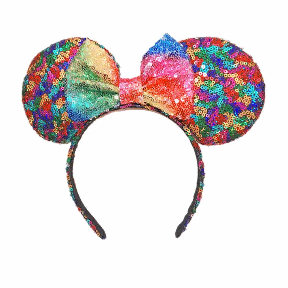 Details about  /Disney Parks Minnie Ears Gift Mouse 2020 Celebration Blue Sparkle Bow Headband