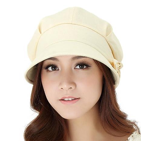 YXLMZ  Invierno Mujer Crochet Hat Tejidos de algodón CapLADIES Beanie Hat  otoño cálido Verano Sombreros 3f8205e39fa