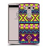 Head Case Designs Hip Neon Aztec Hard Back Case for LG V10