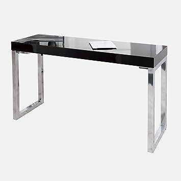 Invicta Interior Design Laptoptisch White Desk 120x40 Cm Hochglanz