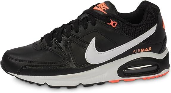 NIKE 409998 018 - Zapatillas de Correr de Piel sintética Hombre, Color Negro, Talla 14: Amazon.es: Zapatos y complementos