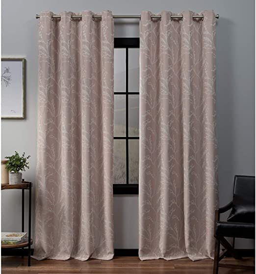 52x63 Linen Exclusive Home Curtains Kilberry Panel Pair
