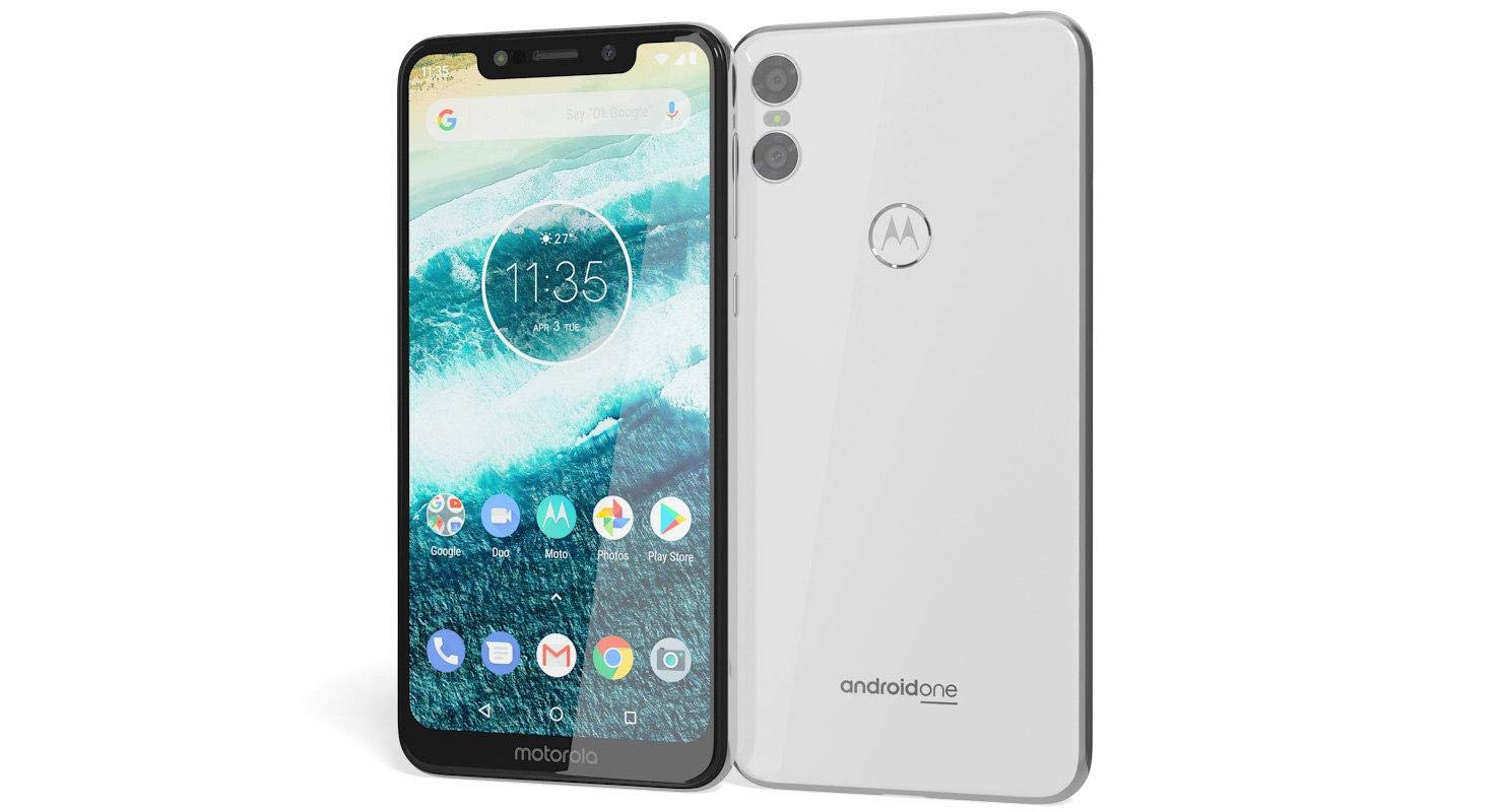 Motorola Moto ONE (4/64 GB, White)