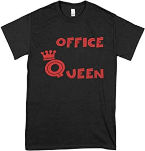 Office Queen Shirt Officer Shirt - Comfy Graphic Tees- Vintage T-Shirts For Women Graphic Tees- Cool Graphic Tees For Boys - Job T-Shirts