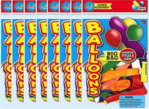Ja-Ru Balloons Big Bag Party Favor Bundle Pack