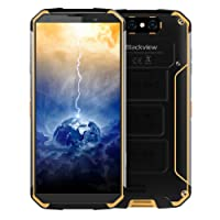 Blackview BV9500 4GB+64GB 10000mAh Battery 5.7 inch Android 8.1 Helio P23 (MTK6763) Octa Core up to 2.5GHz GSM & WCDMA & FDD-LTE (Yellow)