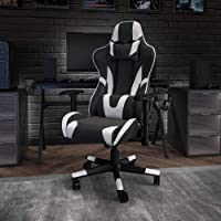 Flash Furniture X20 Gaming Chair Racing Office Ergonomic Computer PC Adjustable Swivel Chair with Fully Reclining Back…