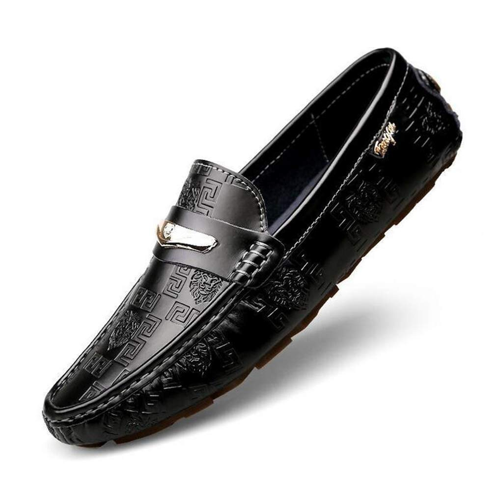 Hy Herrenschuhe Frühlingsschuhe für die Schuhe Flache Atemschuhe Wanderschuhe,schwarz,41