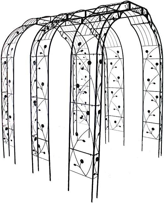 XLOO Tres Arcos de jardín de Estilo francés clásico con Arcos de ...
