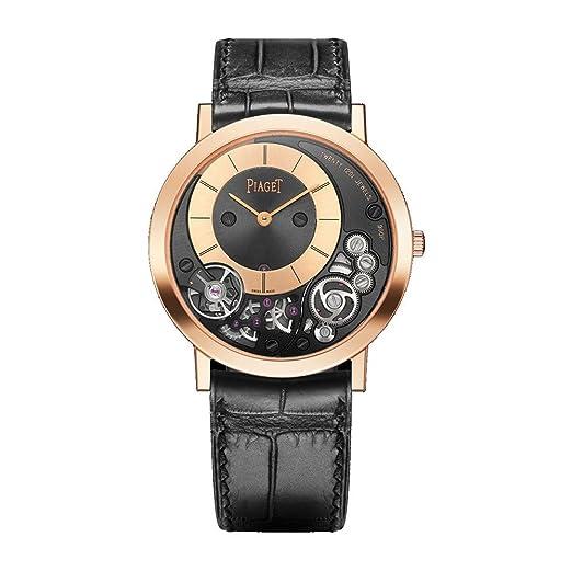 Piaget Altiplano para hombre 18 K oro rosa reloj g0 a41011: Amazon.es: Relojes