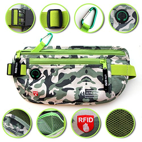 RFID Money Belt for Men And Women