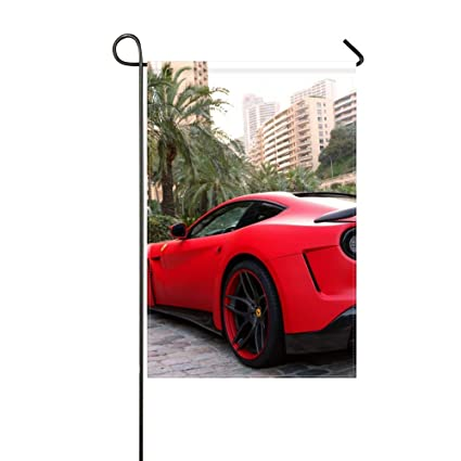 Amazon.com  DongGan Garden Flag Ferrari F12 Berlinetta