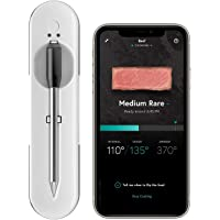 Yummly YTE000W5KW Premium Wireless Smart Meat Thermometer with Long Range Bluetooth Connectivity and Assisted Cooking, 1…