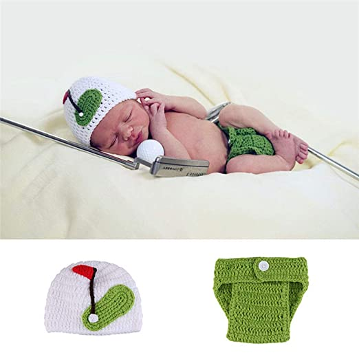 ENCOCO - Disfraz de Ganchillo para bebé recién Nacido, para ...