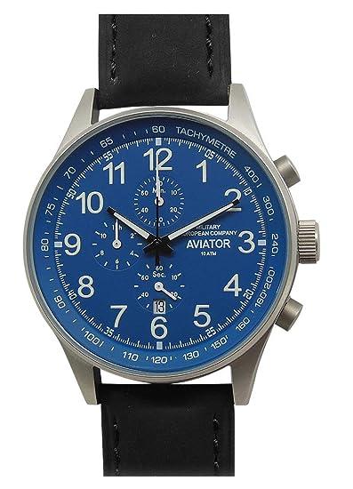 Mec Reloj Vintage Hombre Cuarzo Cronógrafo Acero Militar Buceo deportivo: Amazon.es: Relojes