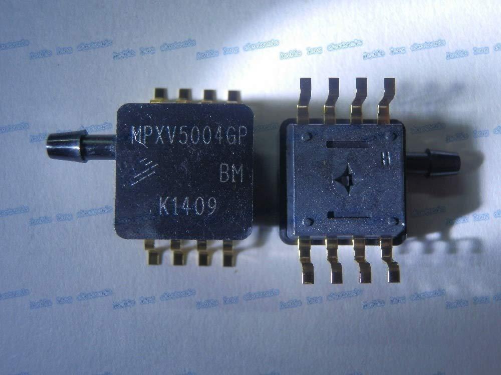 Fevas 5PCS/LOT MPXV5004GP MPXV5004 Pressure Sensor 1V to 5V 0kPa to 3.92kPa Vacuum 8-Pin SOP