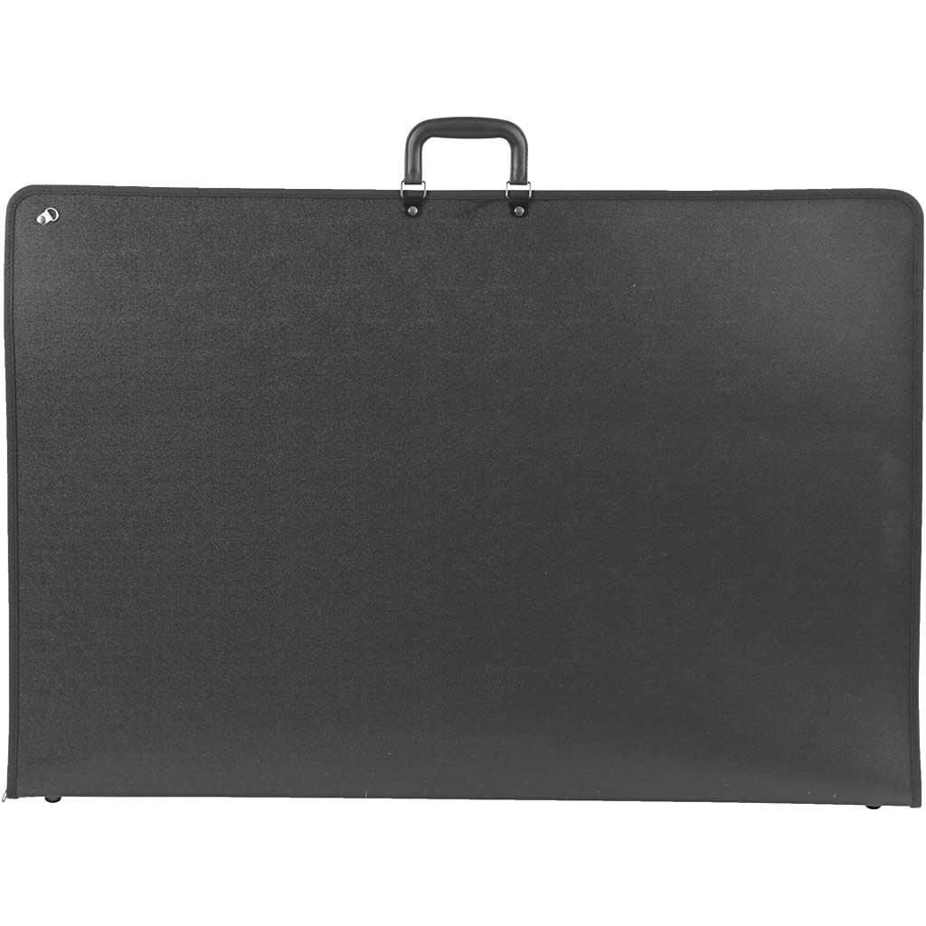 medidas 92x62 cm Portafolio ministro A1MP negro A1 1ud