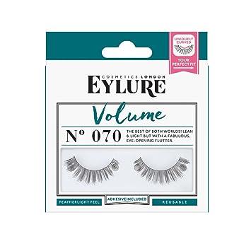 dbe54269fd6 Eylure Strip Lashes No.070 (Volume): Amazon.co.uk: Beauty
