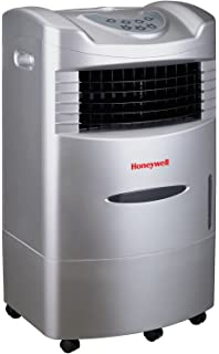 Honeywell 470 CFM Indoor Portable Evaporative Cooler With Fan U0026 Humidifier,  Carbon Dust Filter U0026
