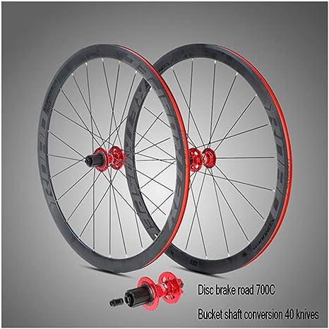 Ruedas de bicicleta de carretera de aleación de aluminio 700C ...