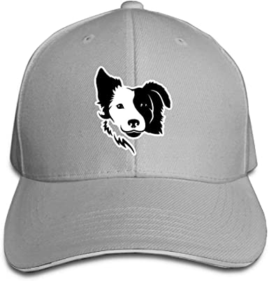 WBinHua Gorras Caps Border Collie Adult Adjustable Snapback Hats ...