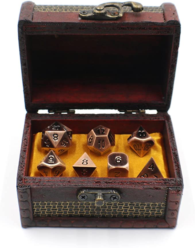Metal Solid Brass Dice Toy Club Holiday Party Entertainment Game Accessories