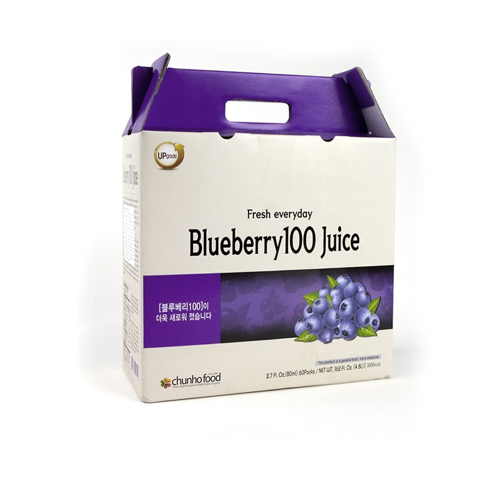Blueberry 100 Juice (Pack of 60)