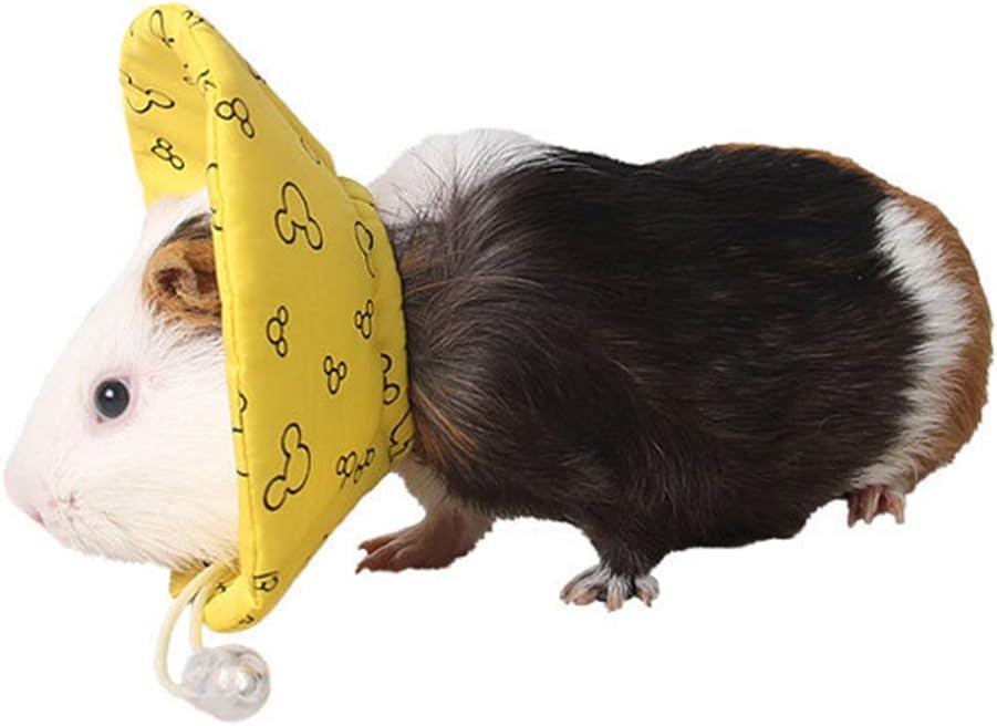 FLAMEER Mascota Cachorro Cono Suave Recuperación E-Collar para Hamster Gerbil Rat Ratón Pequeños Animales