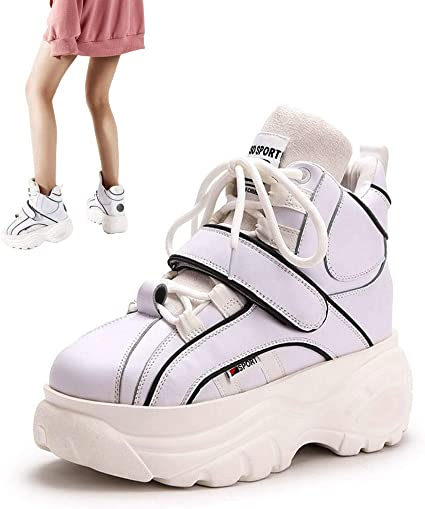 Woman Dad Chunky Sneakers, High Top