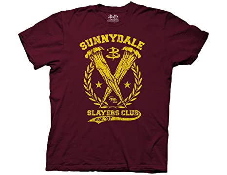 47c7c3d95964d Ripple Junction Buffy The Vampire Slayer Sunnydale Slayers Club Adult  T-Shirt