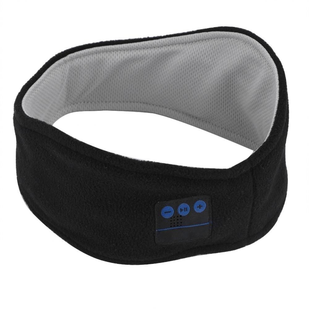 ゼロネスポーツ睡眠ブルートゥースヘッドフォン汗吸収スポーツヘッドバンドスカーフ付きマイク   B07DFJQXPW