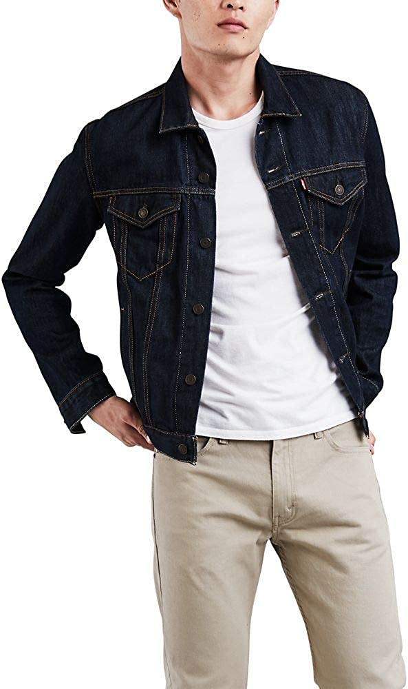 Levi's Men's Trucker Jacket at  Men's Clothing store: Denim Jackets