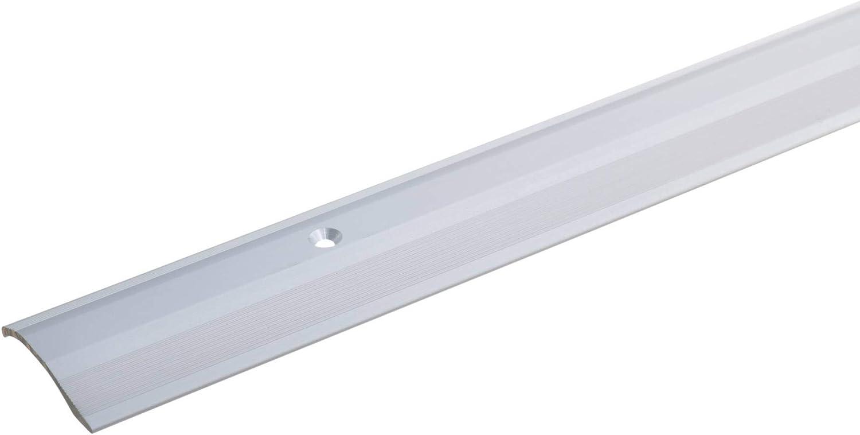 Perfil de transici/ón para laminado parquet y moqueta 2-16mm acerto 38220 Perfil de ajuste de altura de aluminio 100cm dorado Tornillos incluidos List/ón de transici/ón Perfil