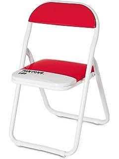 Seletti Pantone Metal Folding Baby Chair, Metal, Ruby Red, 186 Inch
